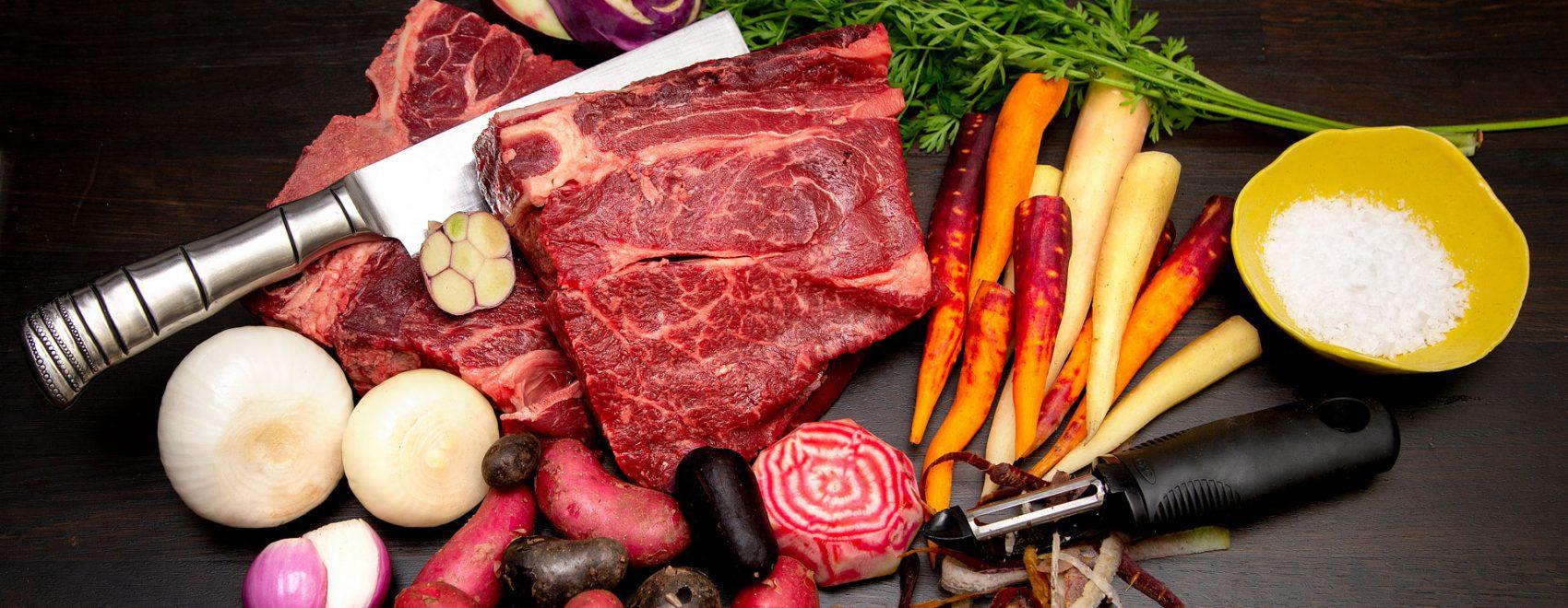 bakgrund kött